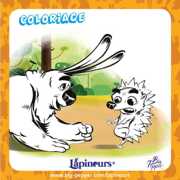 le carnet de lapinours coloriage enfants big pepper