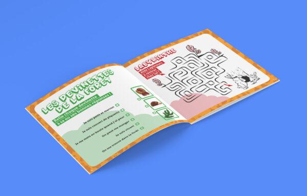 carnet de Lapinours Alexandre Gros Atelier Le Yak Éditions Big Pepper coloriage jeux