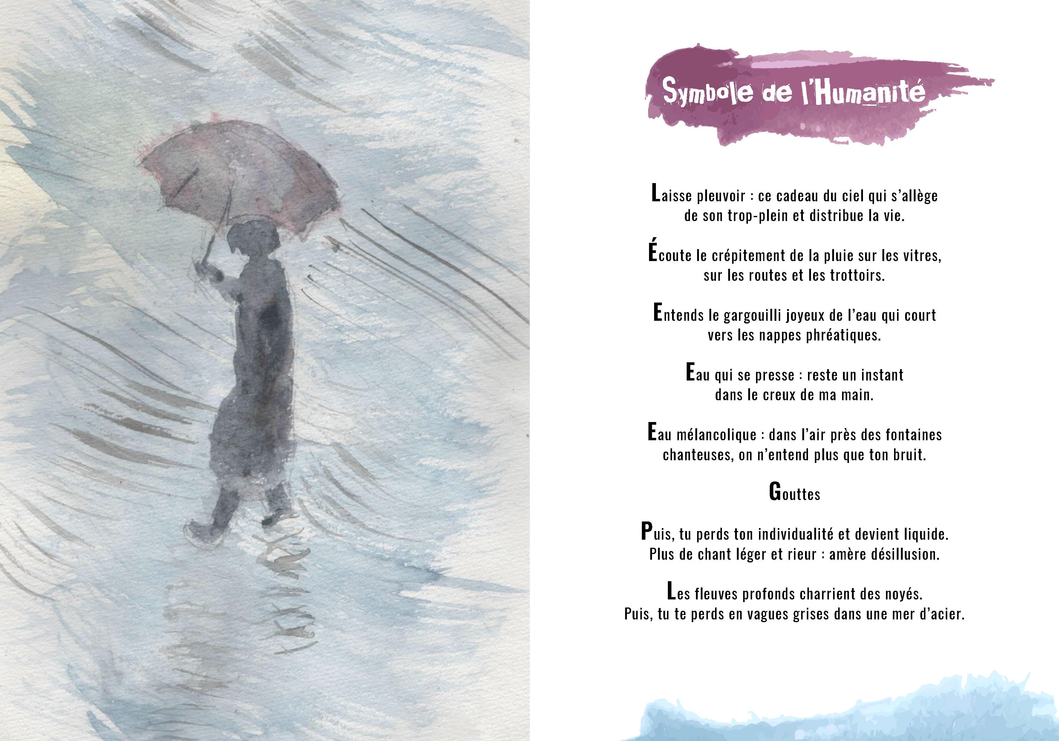 Hymne à La Vie Poèmes Et Aquarelles
