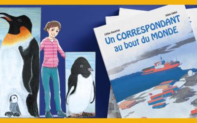 Destination Antarctique : un nouveau projet de livre chez Big Pepper