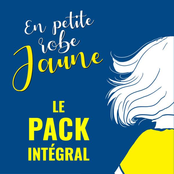pack integral en petite robe jaune Emmanuelle Lepoivre fanny vella éditions big pepper