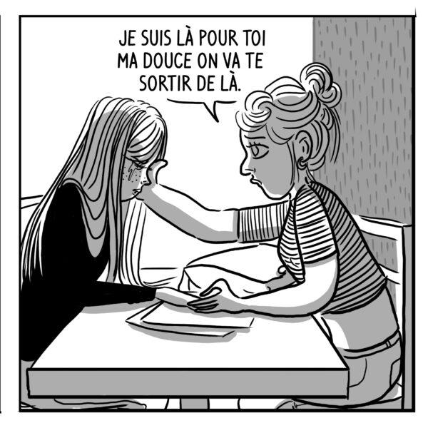 BD bande-dessinée Le seuil Fanny Vella éditions Big Pepper relations toxiques violences conjugales