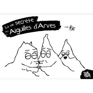 La vie secrète des Aiguilles d'Arves Jym Palfroix éditions Big Pepper couverture