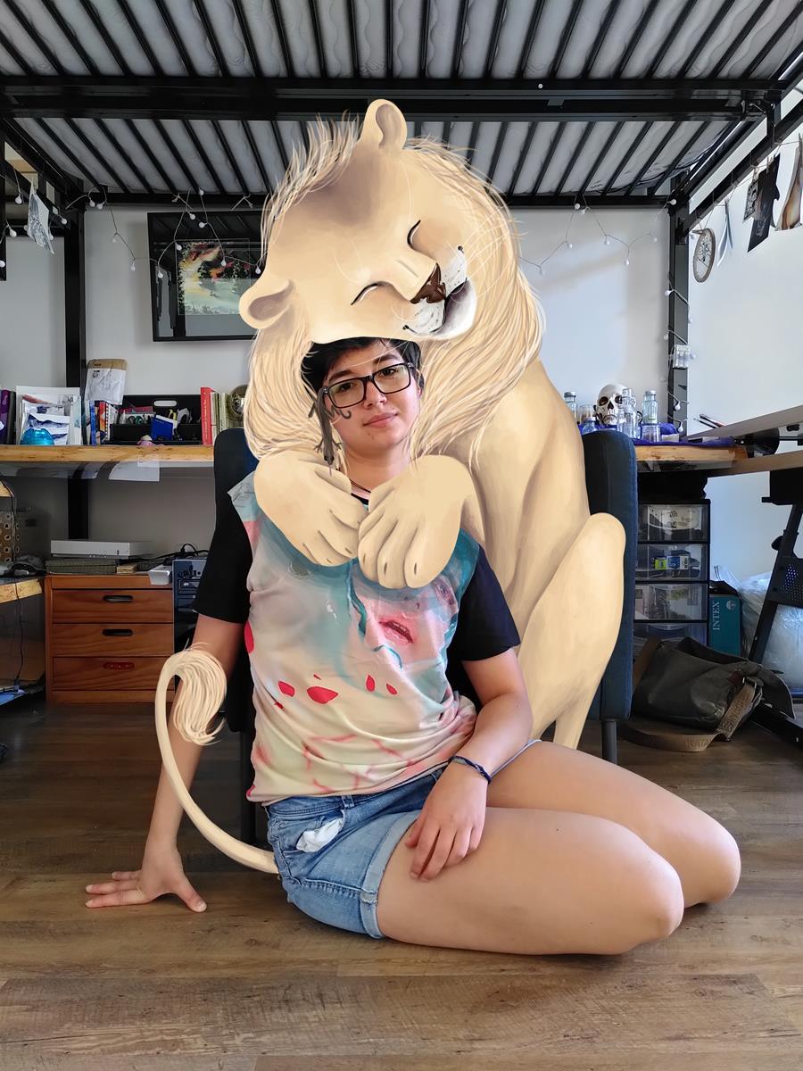 nor, la lionne qui avait une crinière photo sacha batoufflet éditions big pepper