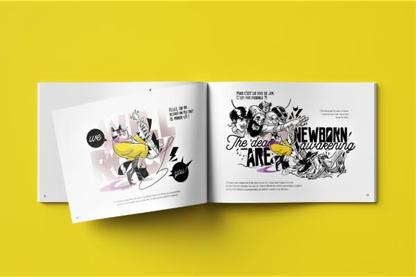 La légende du Chraoc éditions Big Pepper Alexandre Gros Atelier Le Yak Aurélien Ratel Rémy Martiner BD bande dessinée festival Saint-Jean-de-Maurienne intérieur
