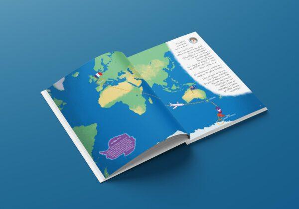 Un correspondant au bout du monde album jeunesse antarctique livre enfant céline aguettaz julien gallot éditions big pepper
